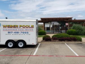 Recycle swimming pool water in Dallas