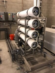 Inline RO Filtration